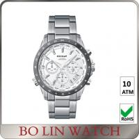 Wholesale Sapphire Glass Titanium Mens Stainless Steel Chronograph Watch Sporty Style from china suppliers