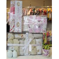 Wholesale 100% Cotton unique Fabric Cute Customized New Born Baby Girl Shower Gift Sets from china suppliers