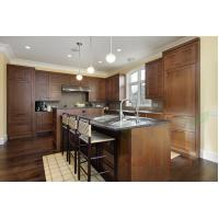 Quality House kitchen design lowest price solid wood kitchen cabinets for sale