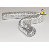 Quality Small bending radius kitchen appilication aluminum foil flexible ducting for sale