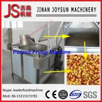 Quality Peanut Roasting Machine Automatic Batch Frying Machine 100 - 200kg / h for sale