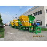 Quality Industrial Double Shaft Shredder Machine For Waste Pe Pp Films 15000 kg/H for sale