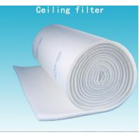 Wholesale 600G EU5 Cloth / Mesh Paint Booth Roof Ceiling Filter With Full Adhesive from china suppliers