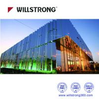 Wholesale Silver Mirror Aluminum Composite Panel 1220mm Width / 4mm Thickness from china suppliers