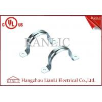 Wholesale 2 Hole Rigid Conduit Straps IMC Conduit Fittings Galvanized Conduit Clamp from china suppliers