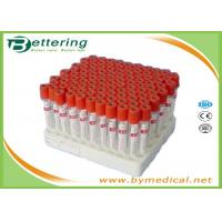 Quality Disposable vacuum blood collection tube procoagulation tube with red cap blood sampling collecting tube for sale