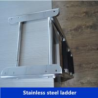 Wholesale Folding ladders stainless steel for marine/ship/marine hardware ladders from China from china suppliers