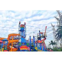 Quality Wizard Paradise 304 Stainless Steel Water Park Playground 45 * 40 M For Kids for sale