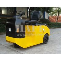 Wholesale 3t 48vFull AC Electric Tow tractor heavy-duty cargo electric tow tractor (with trailer) from china suppliers