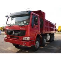 Wholesale HOWO 8*4-380HP-22cbm-Dump tipper truck-CNG power from china suppliers