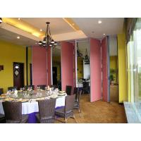 Wholesale Hanging System Operable and Movable Folding Partition Walls For Restaurant from china suppliers