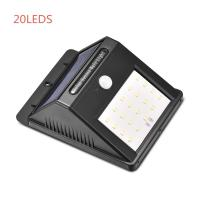 Quality Portable Outdoor Solar Motion Sensor Wall Lights / Solar Garden Light No Need Electricity for sale