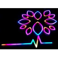 Wholesale Illuminated LED Neon Signs / Store Neon Signs With RGB Changeable Colors from china suppliers