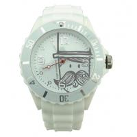 Wholesale Waterproof Mens Quartz Watches , Christmas Gift Printing Mustache Brand Watch from china suppliers