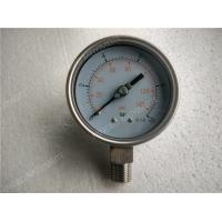 Wholesale 100mm  All Stainless Steel Pressure Gauge with Welding Connection from china suppliers