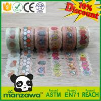Buy cheap Best price wholesale meets SGS washi tape tack lasting not bad die cut tape from wholesalers