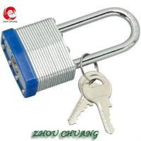 Wholesale ZC-G52 40mm Safety Uncuttable Padlocks Heavy Duty Padlocks, Laminated padlock from china suppliers