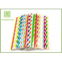 Wholesale Personalized Pink Party Paper Straws For Holidays 197MM Logo Printable from china suppliers