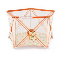 Wholesale Light Weight 5 Panel Portable Play Yard Adjustable , Easy To Clean from china suppliers