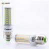 Buy cheap Upgrade Design E27 SMD5730 72Leds Corn light No Flicker led Bulb Lamp AC220V 230V 240V LED Spotlight candle Light from wholesalers