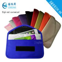 Wholesale Custom RFID Travel Bags , Credit Card Protector Wallet 19.5*9 Cm from china suppliers