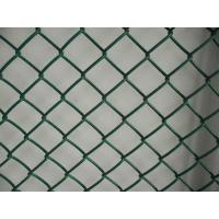 Buy cheap 9 Gauge PVC Chain link fence mesh 50mm with 6' x 50' Size for Sport Ground uasge from wholesalers