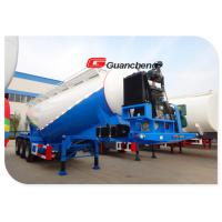 Wholesale Durable Flyash Tanker Cement Tank Trailer Tri - Axle Bulk Cement Tank Trailer from china suppliers