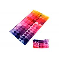 Polyester Bicycle Original Buff Headwear 25*50CM Sublimation Printed  Buff Scarf