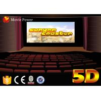 Wholesale Multi - Directional Movements 5d Movie Theater System High Technology For Museum from china suppliers