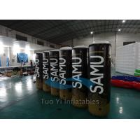 Wholesale Digital Printing Inflatable Buoys / Racing Buoy Cylindrical Shape For Advertising from china suppliers