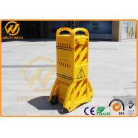 Wholesale PVC Injection Yellow Extensible Plastic Traffic Barriers Fencing Portable Max Length 3.9M from china suppliers