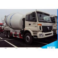 Wholesale foton Auman 6*4 8cubic meters concrete mixer truck for sale, 2017s new best price 8m3 foton truck mounted mixer truck from china suppliers