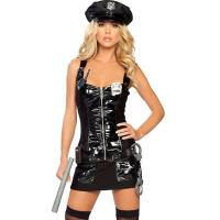 Buy cheap Halloween Sexy Party Adult Costumes Protect and Serve Police Costume from wholesalers