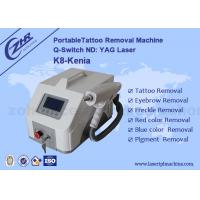 Wholesale 1~5HZ Portable Q Switch ND YAG  1064nm&532nm Tattoo Removal Machine from china suppliers