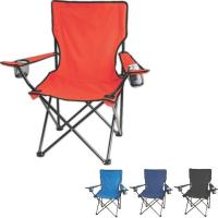 Wholesale Black Pink L Size Collapsible Beach Chair For Kids / Adult , Folding Leisure Chair from china suppliers