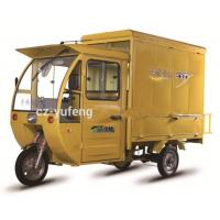 Wholesale Electric Powered Custom Food Trucks / Foot Brake Electric Food Car Tricycle from china suppliers