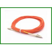 Wholesale LC / UPC Connector MM Simplex Optical Patch Cord 10m For Test Equipment from china suppliers