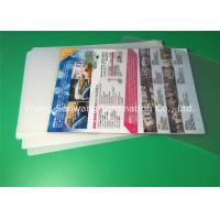 Wholesale A4 Laminating Pouches 80 Micron / 100 Micron , PET Laminating Film Pouches from china suppliers