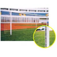 Wholesale 7.32 X 2.44 m Childrens Aluminum Football Goals Small With Net Heat Resistance from china suppliers
