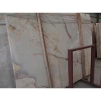 Wholesale White Marble Onyx Stone Slabs tile for commercial and residential construction from china suppliers