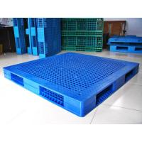 Quality Rackable Plastic Shipping Pallets For Storage / Distribution , Blue Plastic Pallet Recycling for sale