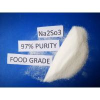 Buy cheap Cas No7757 83 7 Sodium Sulfite Food Grade Na2SO3 97% Purity For Pharmaceutical Industry from wholesalers