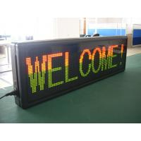 Wholesale F3.75 Electronic Red Green Blue Yellow White Scrolling LED Sign High Brightness ,Modular LED Display from china suppliers