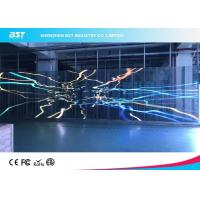 Wholesale P7.81mm Transparent Led Mesh Curtain , Led Video Wall Display Screen High Resolution from china suppliers