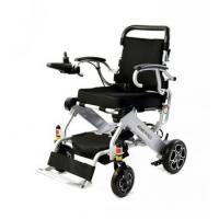 China 2018 newest FDA CE light weight folding aluminum  power wheelchair with lithium battery from chinese supper manufactory on sale