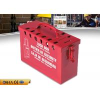 Wholesale Red Portable Lockout Tagout Kits With 12 Pieces Padlocks Steel Material from china suppliers