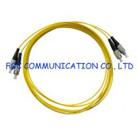 Wholesale FTTH FC Fiber Optic Patch Cord Duplex Bend Insensitive Fiber Metal Housing from china suppliers