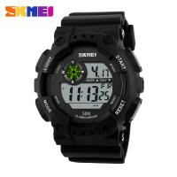 Wholesale Waterproof Mens Digital Watches Night Light Big Digit ABS Plastic from china suppliers