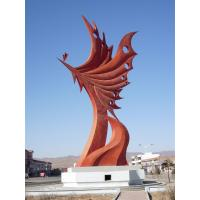 Wholesale Modern Large Stainless steel Animal Arts Sculpture for garden decoration from china suppliers