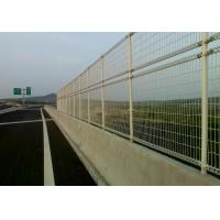 Wholesale Portable And Safe Plastic Coated Road Side Wire Mesh Fences With Rain Proof Cap from china suppliers